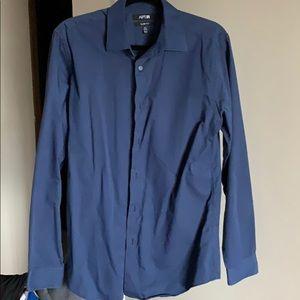 A blue Apt. 9 dress shirt